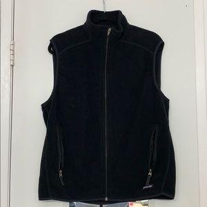 Patagonia Synchilla Men's Black Fleece Vest Sz L